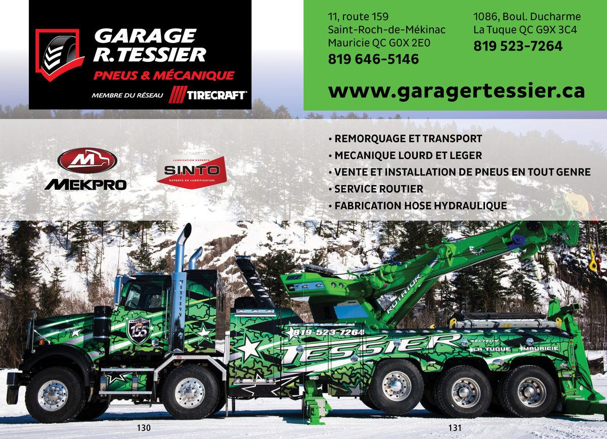 Garage R.Tessier - Truckers Handbook and Saving on