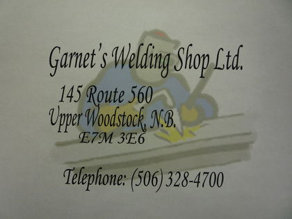Garnet's Welding Shop LTD